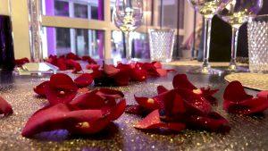 Augenblick Skylounge Kleve - 4-Gang-Candlelight Dinner zu Valentinstag